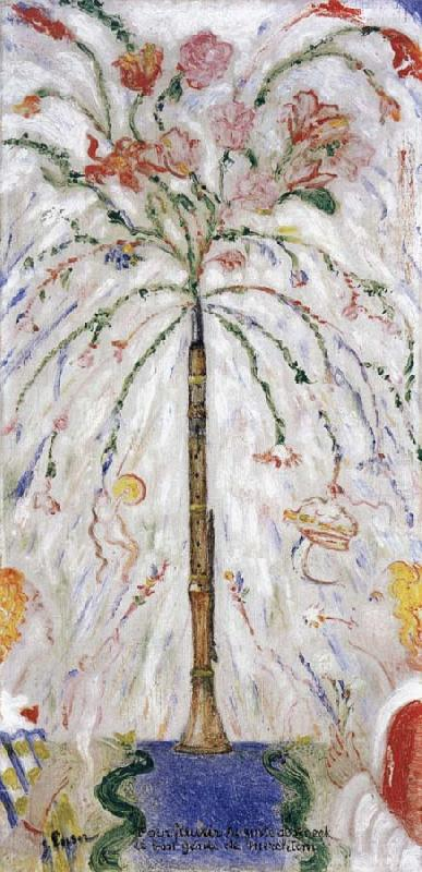 The flowering Clarinet, James Ensor