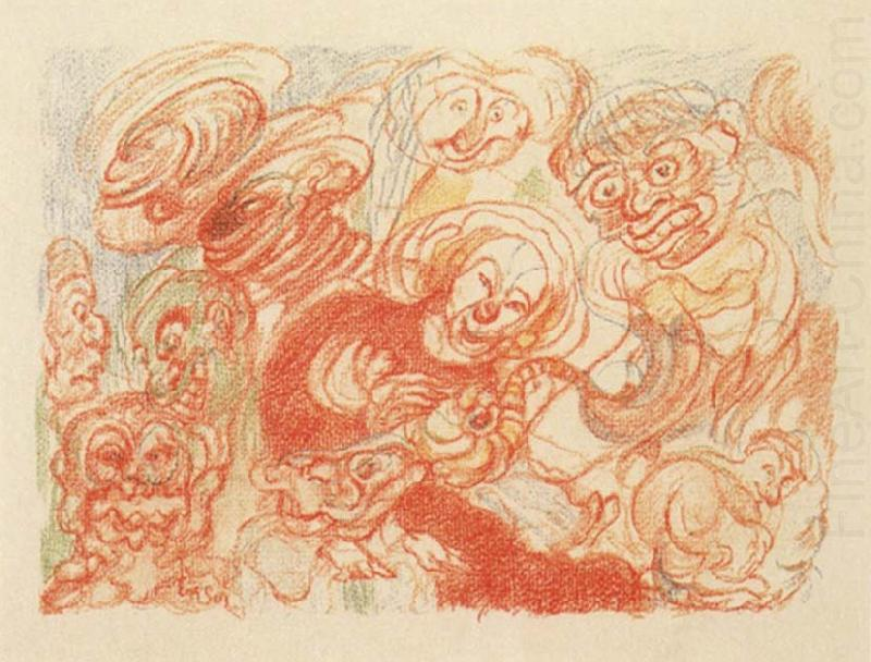 James Ensor The Holy Family