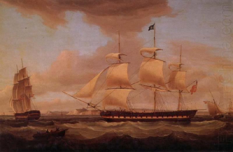 H.C.S Duchess of Atholl on her amaiden voyage, Thomas Whitcombe