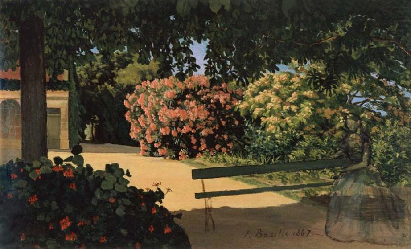 The Oleanders, Frederic Bazille