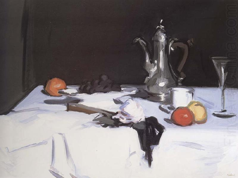 Still Life with Coffee Pot, Samuel John Peploe