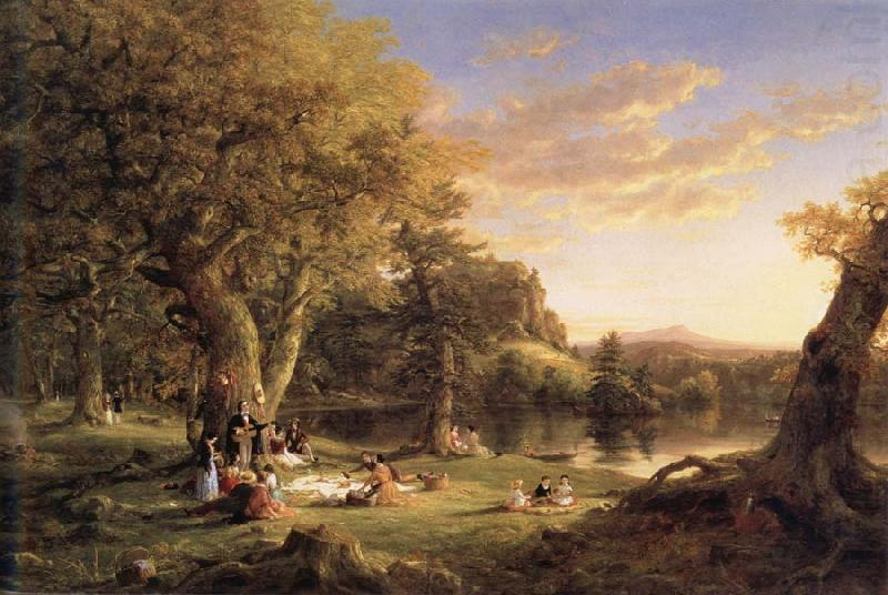 A Pic-Nic Party, Thomas Cole