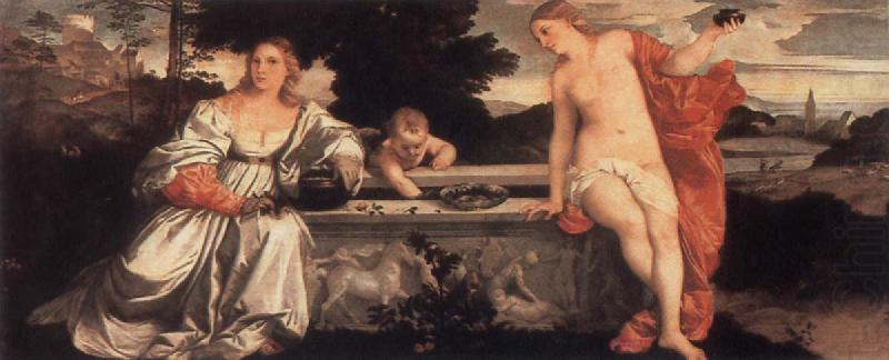 Sacred and Profane Love, Titian