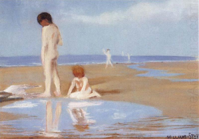 Study of A Summer-s Day, William Stott of Oldham