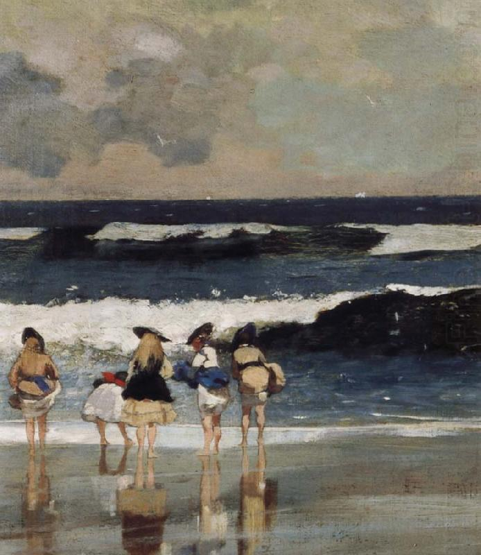 Winslow Homer Detail from on the Beach