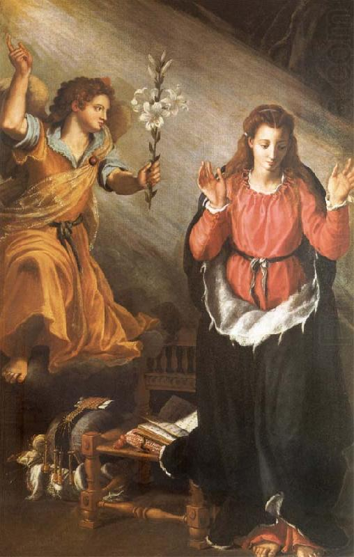 The Anunciacion, ALLORI Alessandro