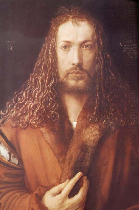 Salvator Mundi Albrecht Durer >> Self-portrait Albrecht Durer Wholesale Oil Painting China Picture Frame 44875