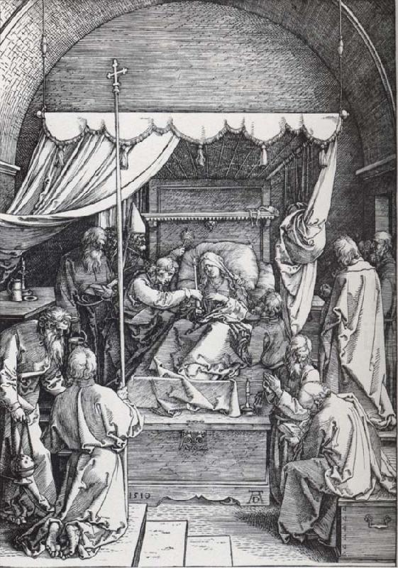 The Death of the Virgin, Albrecht Durer