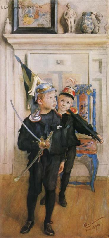Ulf and Pontus, Carl Larsson