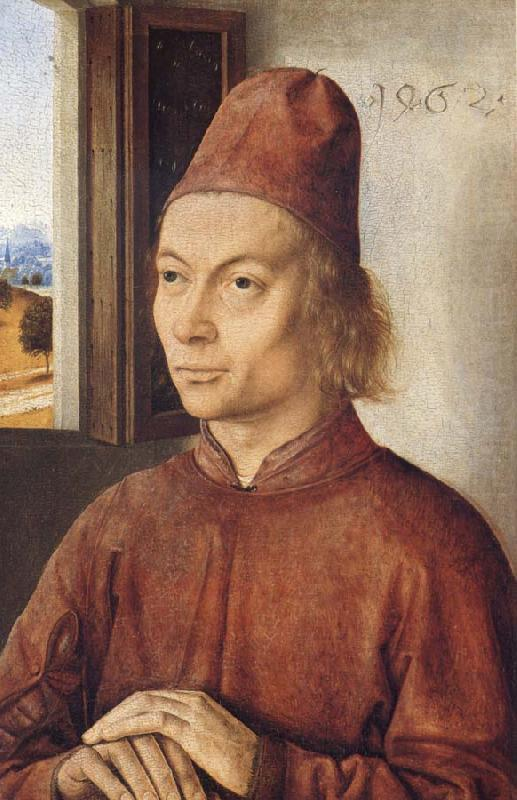 Dieric Bouts Portrait of a Man