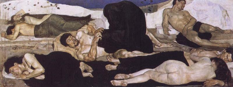 Night, Ferdinand Hodler