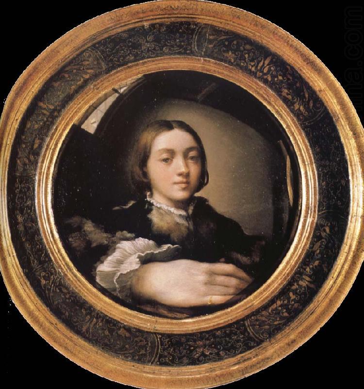 Self portrait in a convex mirror francesco parmigianino for Autoportrait miroir