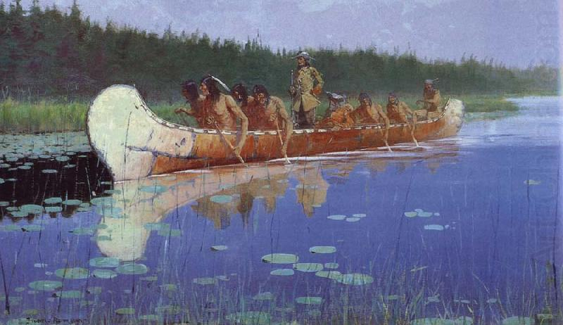 Radisson and Groseilliers, Frederic Remington