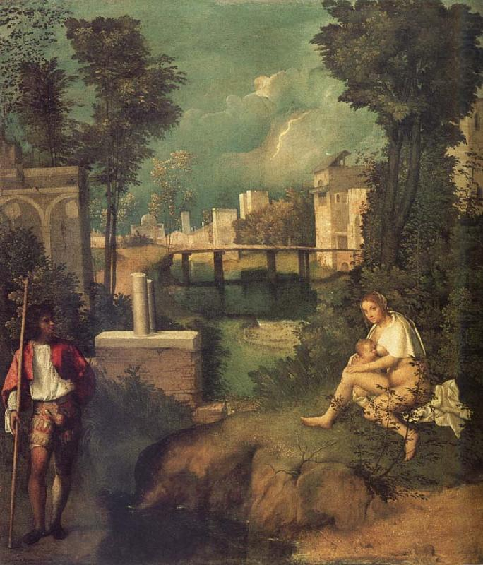 the tempest giorgione wholesale oil painting china picture