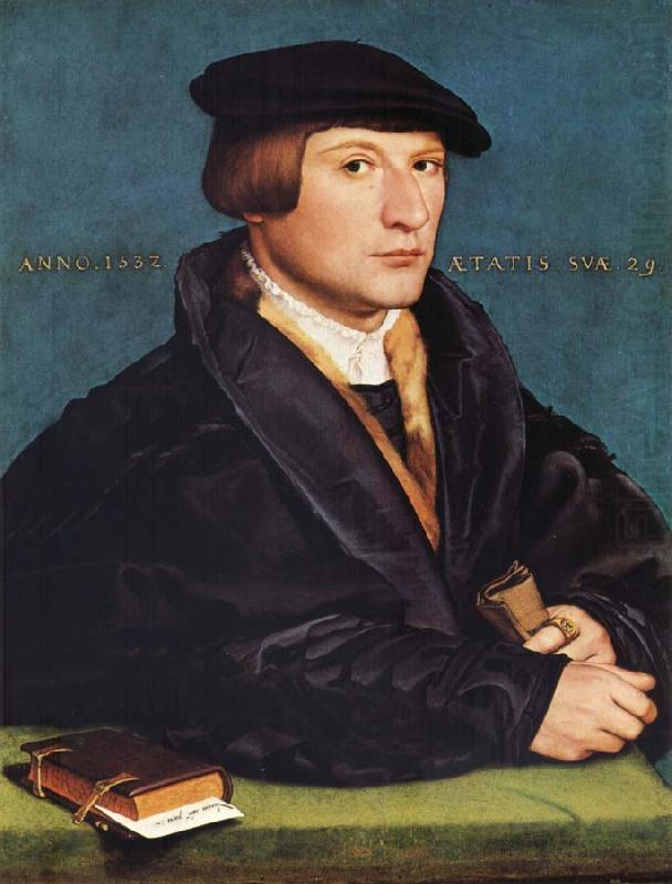 HOLBEIN, Hans the Younger Portrait of a Member of the Wedigh Family