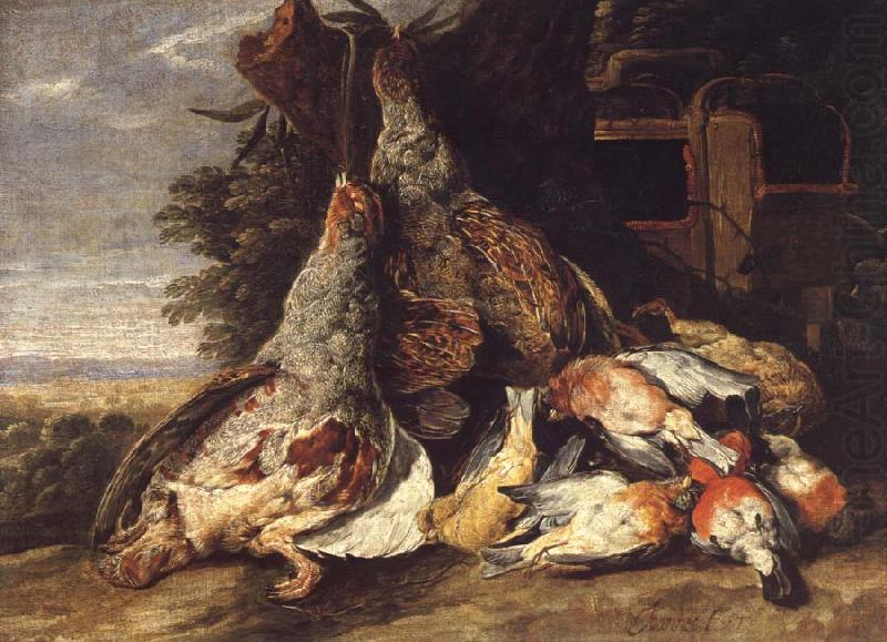 Dead Birds in a Landscape, Jan  Fyt