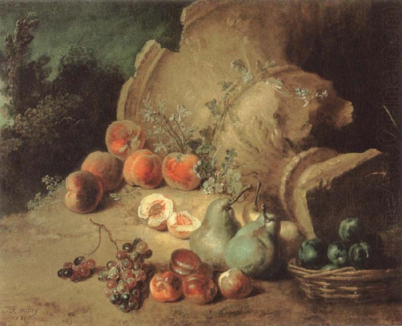 Still Life with Fruit, Jean Baptiste Oudry