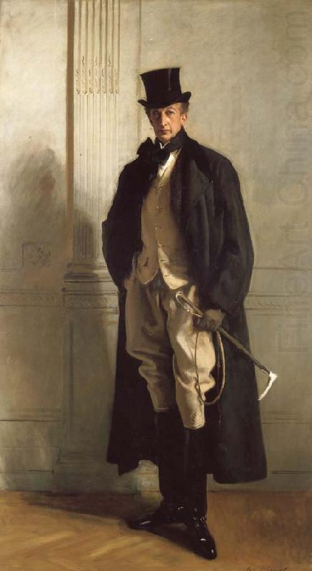 Lord Ribblesdale, John Singer Sargent