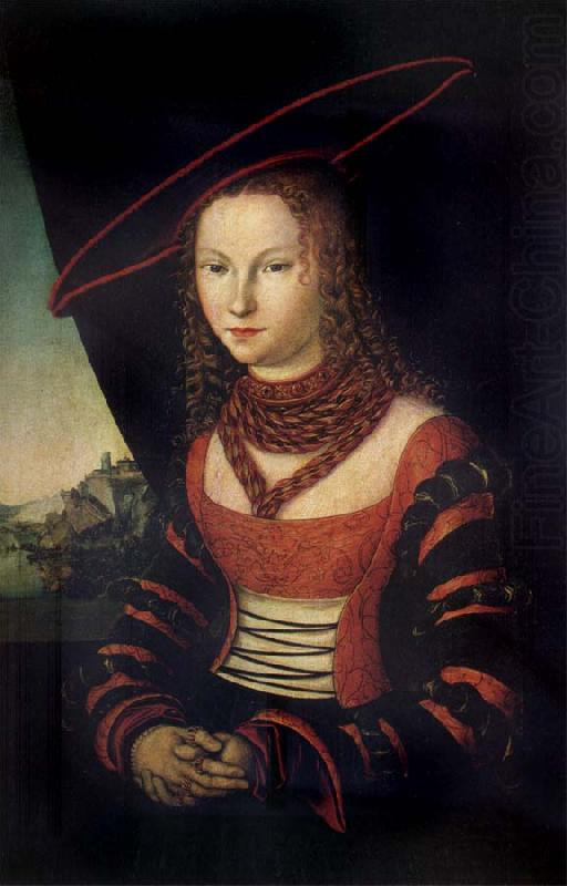 Lucas Cranach the Elder Portrait of a woman