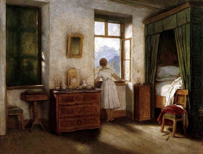 Early Morning, Moritz von Schwind