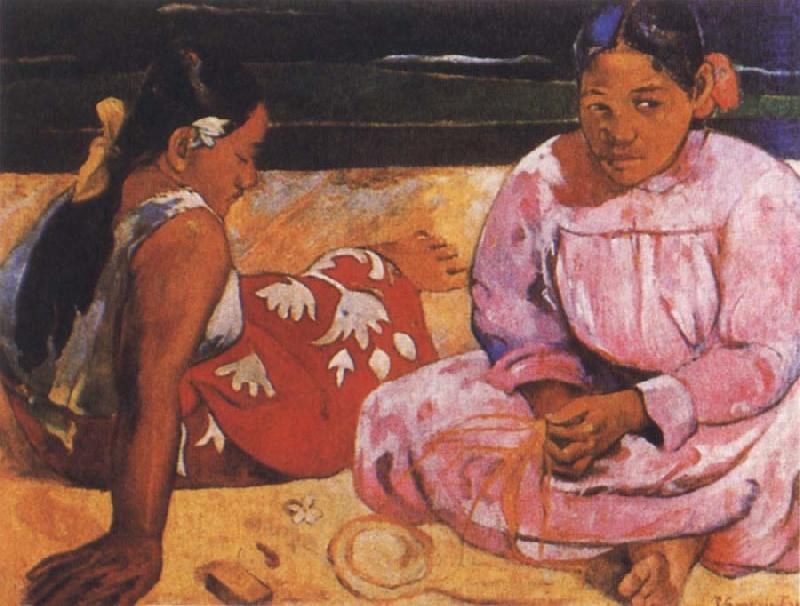 Tahitian Women, Paul Gauguin
