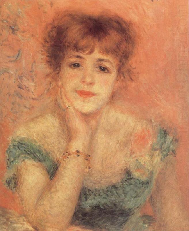 Portrait of t he Actress Jeanne Samary, Pierre-Auguste Renoir