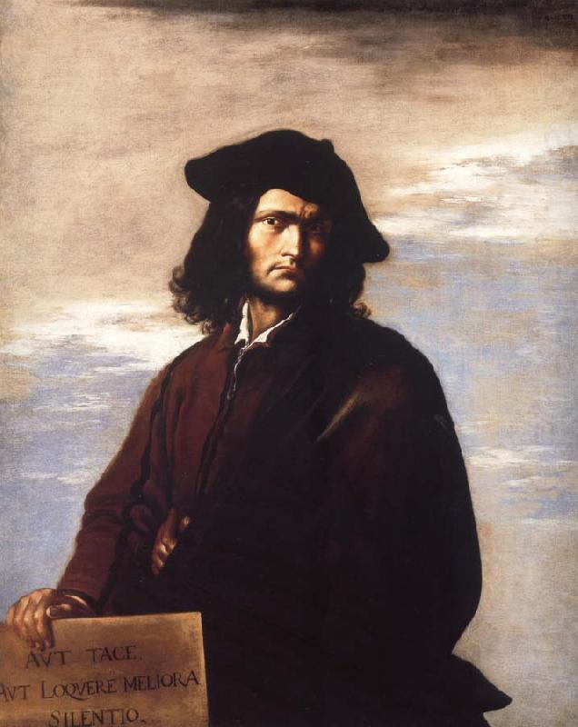 Salvator Rosa Self portrait