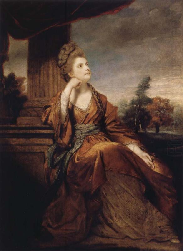 Maria,Duchess of Gloucester, Sir Joshua Reynolds