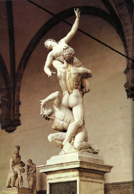 The Rape of the Sabine Woman, unknow artist