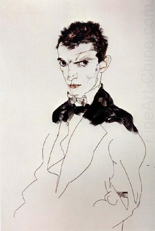 Self Portrait, Egon Schiele