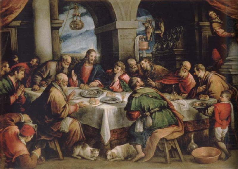The communion, Francesco Bassano the younger