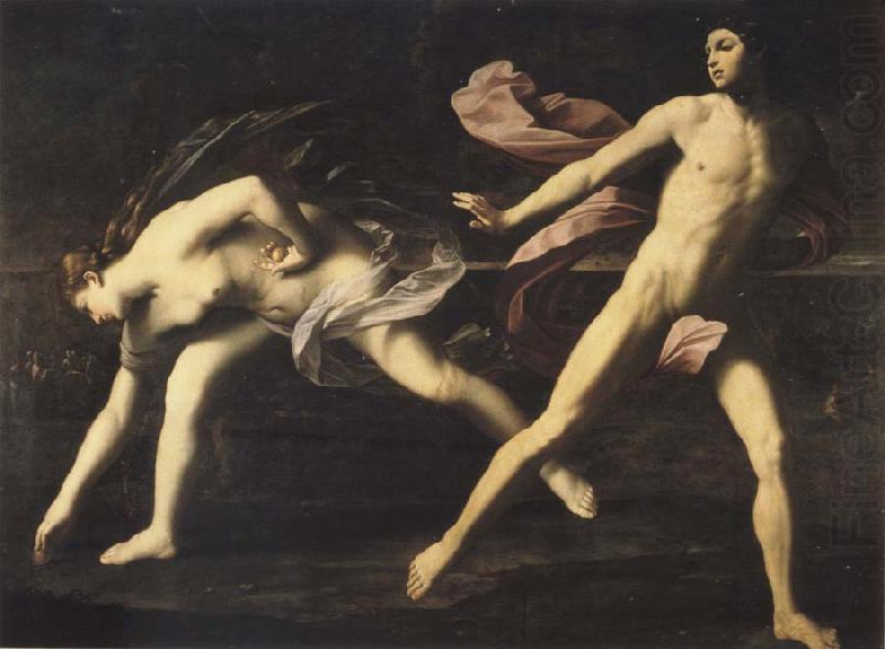 Atalante and Hippomenes, Guido Reni