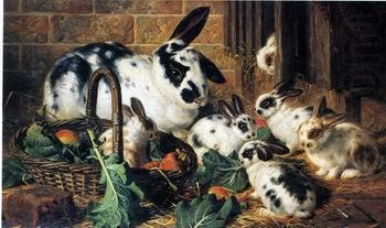 Rabbits 198, unknow artist