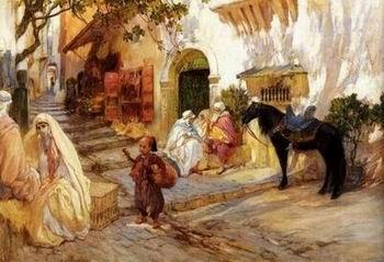 Arab or Arabic people and life. Orientalism oil paintings 337, unknow artist