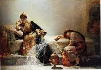 Arab or Arabic people and life. Orientalism oil paintings 147, unknow artist