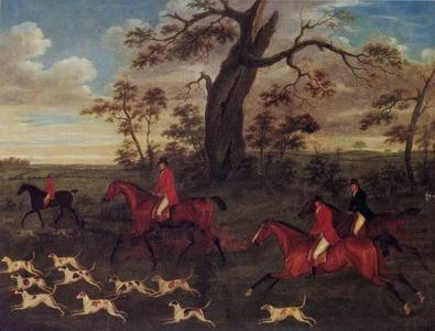 Classical hunting fox, Equestrian and Beautiful Horses, 136., unknow artist