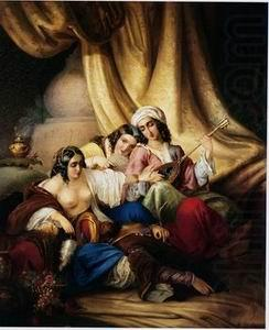 Arab or Arabic people and life. Orientalism oil paintings 163, unknow artist