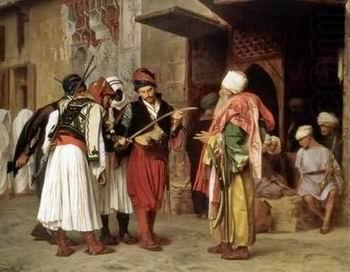 Arab or Arabic people and life. Orientalism oil paintings  304, unknow artist