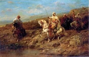 Arab or Arabic people and life. Orientalism oil paintings 191, unknow artist