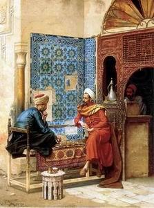 Arab or Arabic people and life. Orientalism oil paintings  300, unknow artist