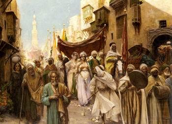 Arab or Arabic people and life. Orientalism oil paintings  507, unknow artist