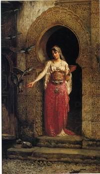 Arab or Arabic people and life. Orientalism oil paintings 448, unknow artist