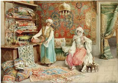 Arab or Arabic people and life. Orientalism oil paintings 580, unknow artist