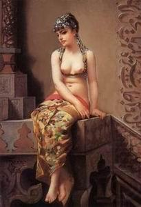 Arab or Arabic people and life. Orientalism oil paintings  237, unknow artist