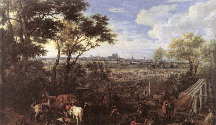 The Army of Louis XIV in front of Tournai in 1667, MEULEN, Adam Frans van der
