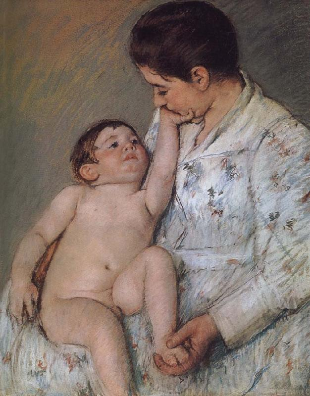 Baby-s touching, Mary Cassatt