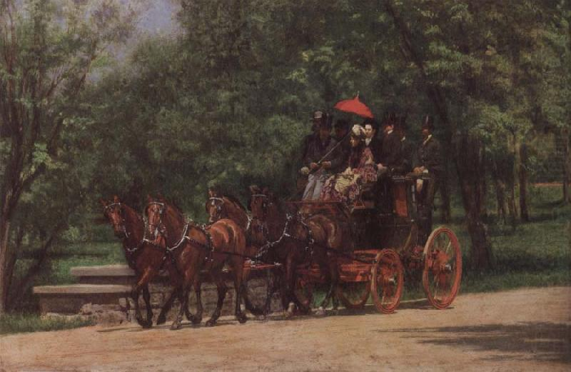 Wagon, Thomas Eakins