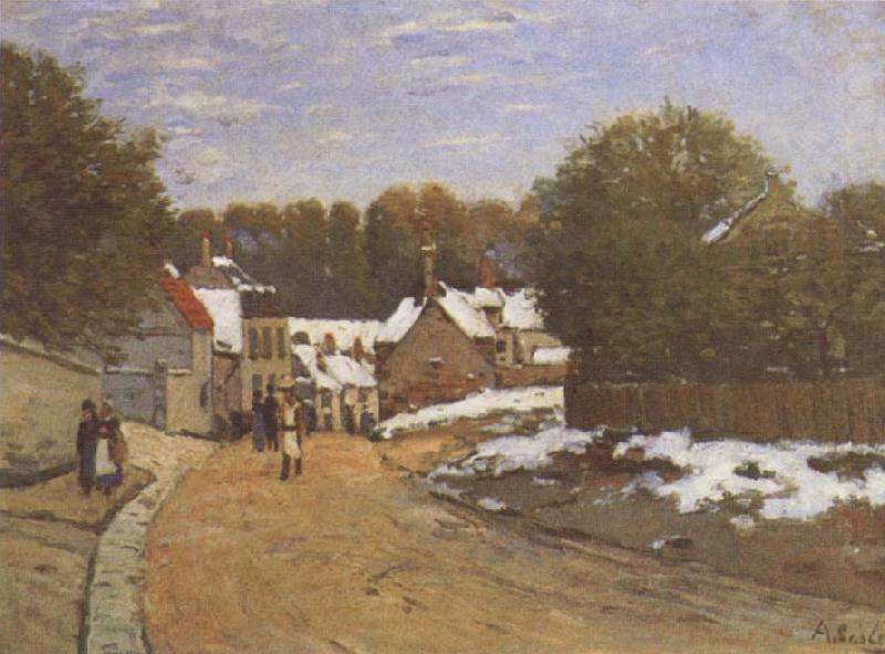 alfred sisley misty morning