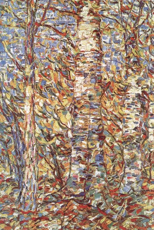 Birch wood, Christian Rohlfs