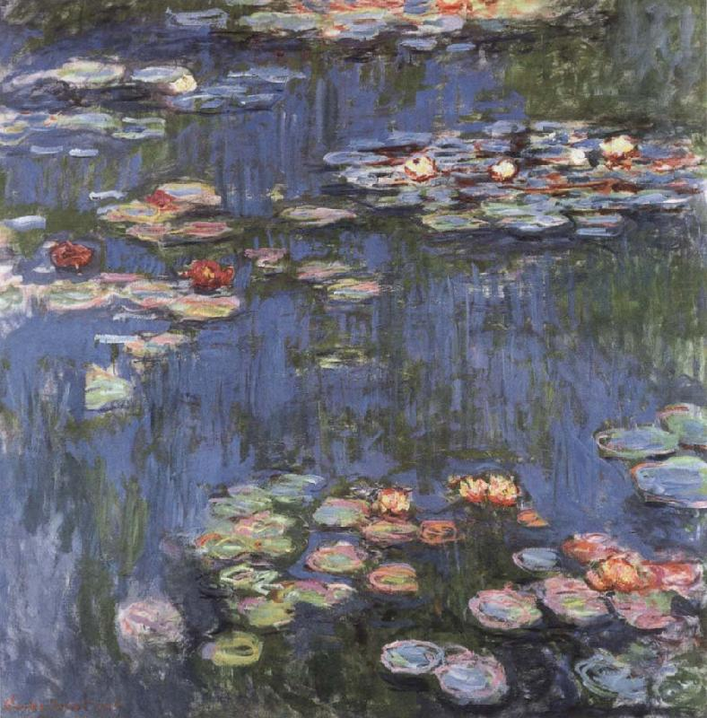 Waterlilies, Claude Monet